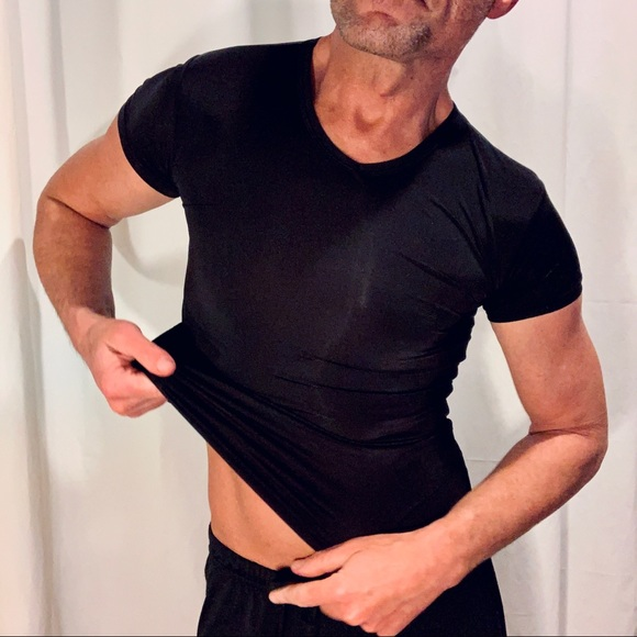 The Stretch Muscle T-Shirt (Black)